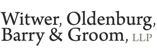 Witwer, Oldenburg, Barry & Groom, LLP